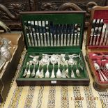 A canteen of cutlery