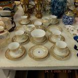 A Noritake tea set