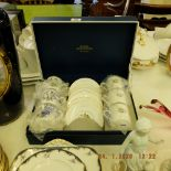 A boxed Royal Worcester coffee set