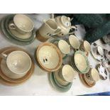 A Poole pottery tea set