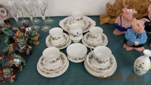 A Royal standard tea set