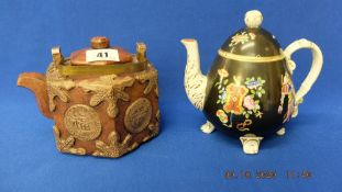 A Chinese teapot plus other