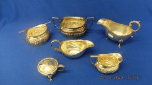 A qty of silver plate