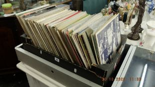 A large collection of jazz/ blues LP's