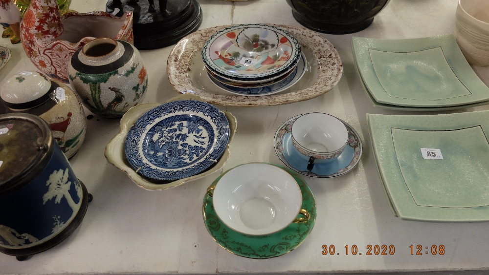 A qty of china, oriental duos etc. - Image 2 of 2