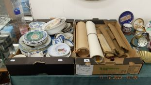 A qty of assorted china etc.