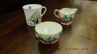 Two pieces of Mailing china and a Shelly cup