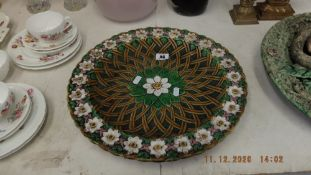 An early Victorian Minton floral plate