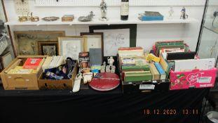 A qty of cricket balls and memorabilia