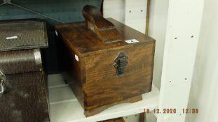 An old shoe box