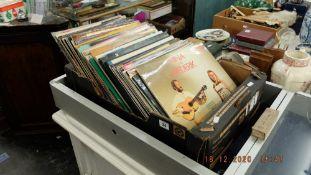 A qty of LP's