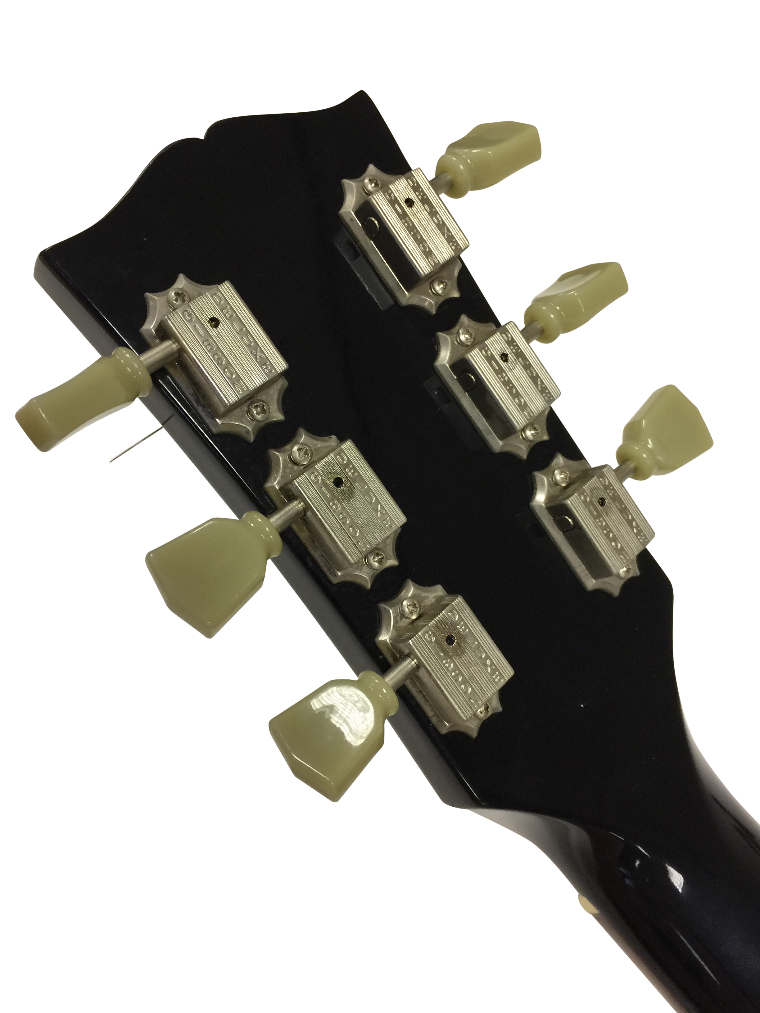 Lot 13 - GIBSON SG BLACK ELECTRIC GUITAR. A 2004 Gibson SG Standard with hard case. Very good condition.