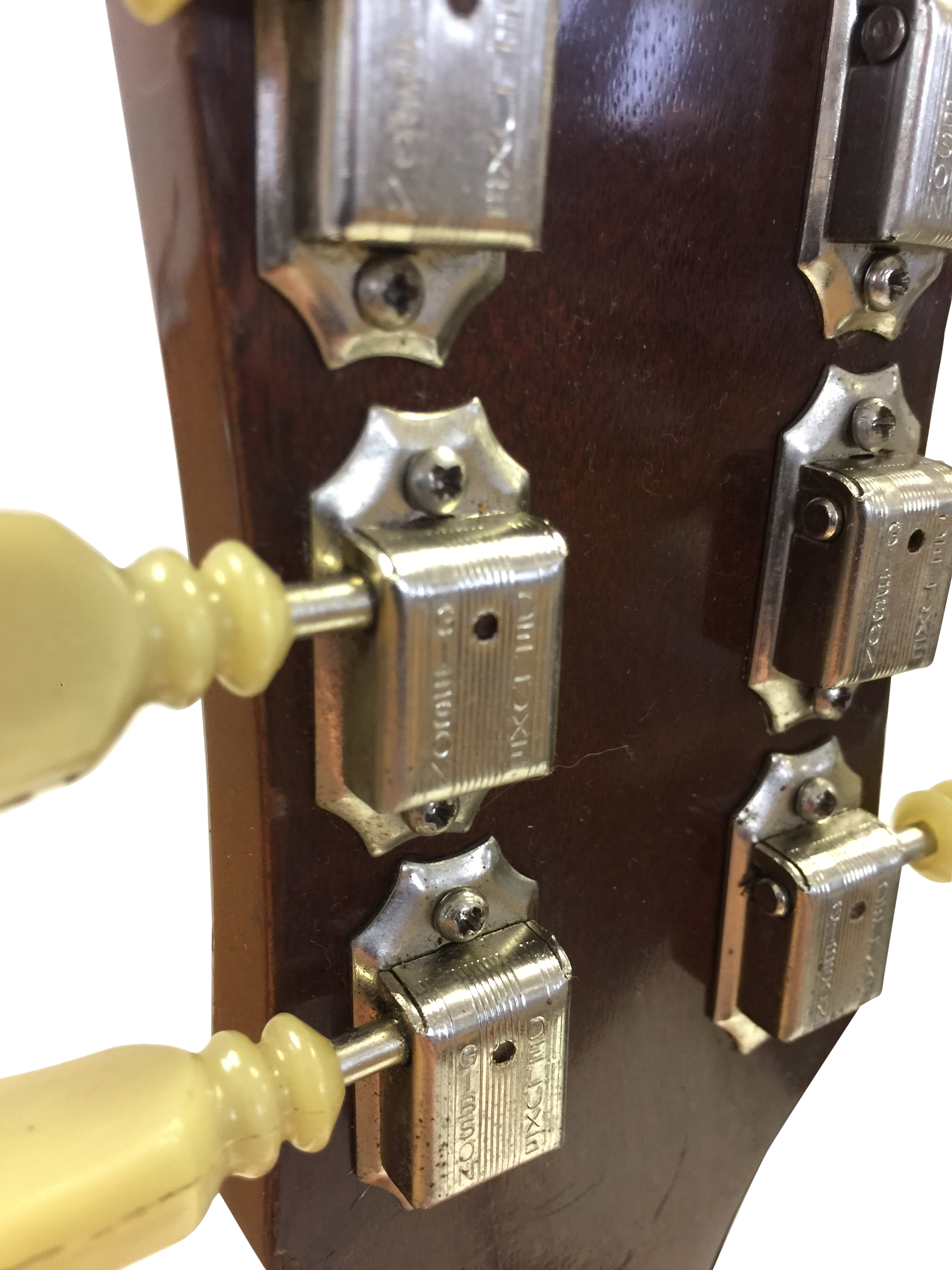 Lot 17 - GIBSON LES PAUL GOLDTOP 1969 ELECTRIC GUITAR. With a 59' neck and pickups.