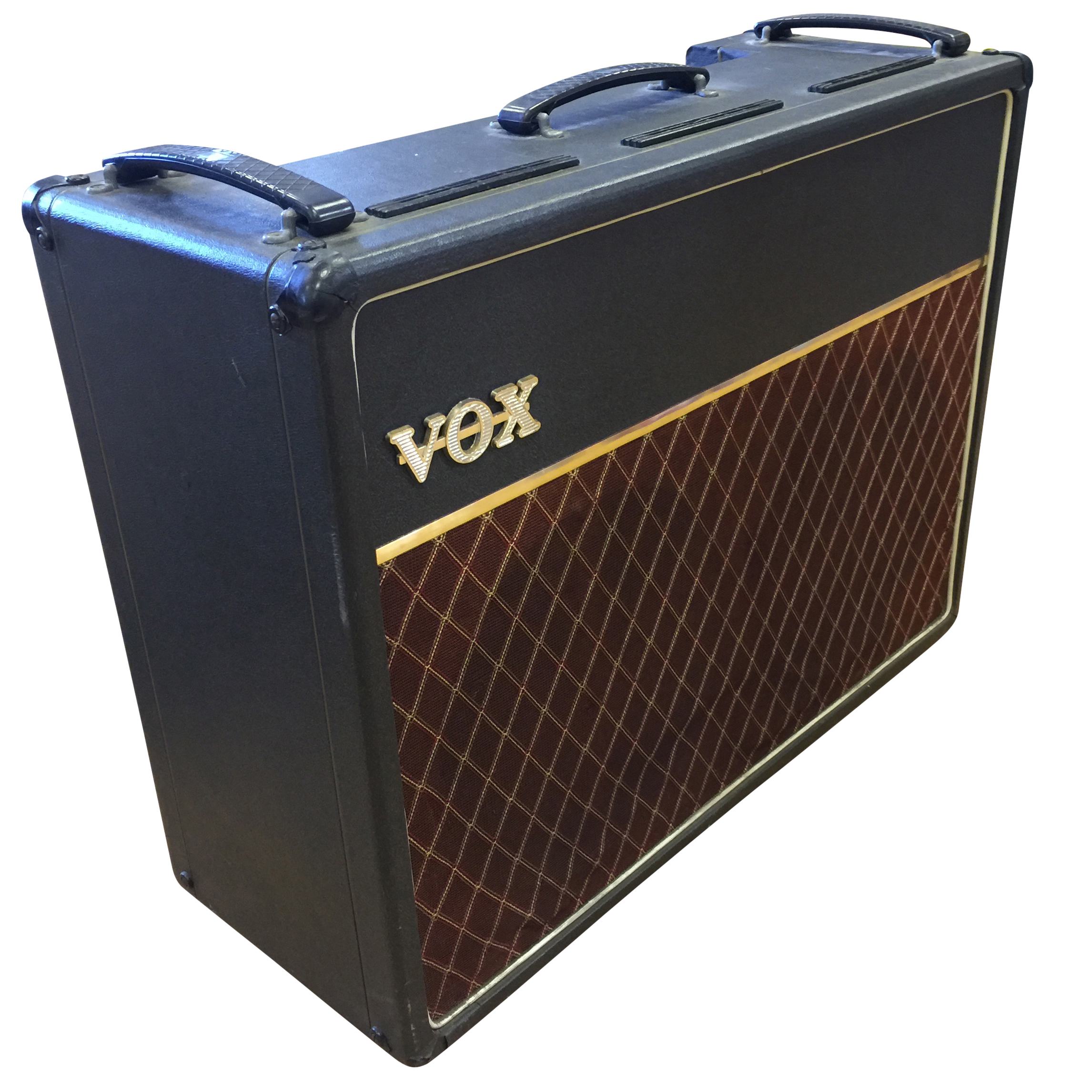 Lot 7 - VOX AC30 COMBO AMPLIFIER. Serial No.13098T complete with Vox cover.