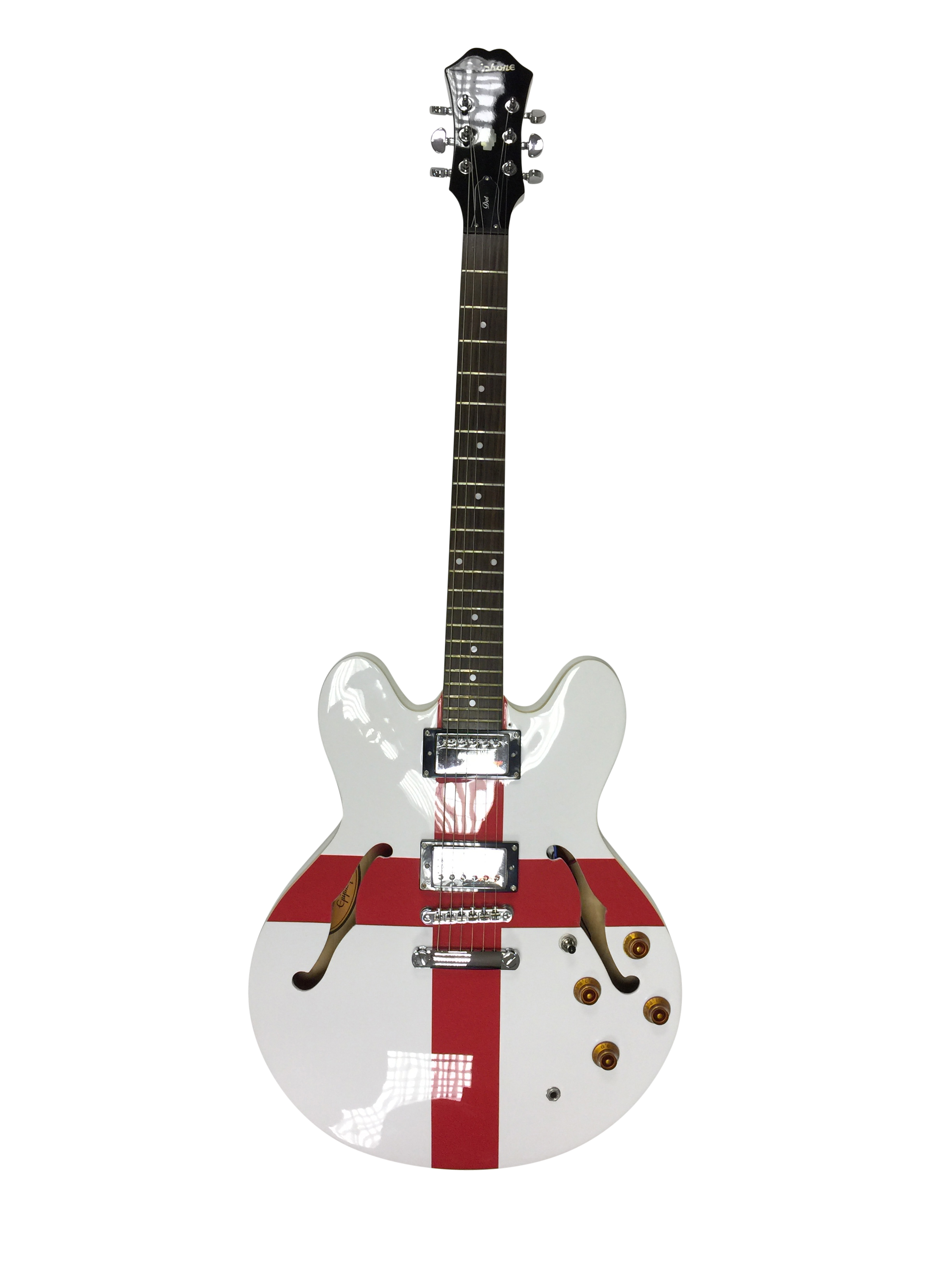 Lot 11 - EPIPHONE DOT LIMITED EDITION ELECTRIC GUITAR. A limited edition 2006 'St.