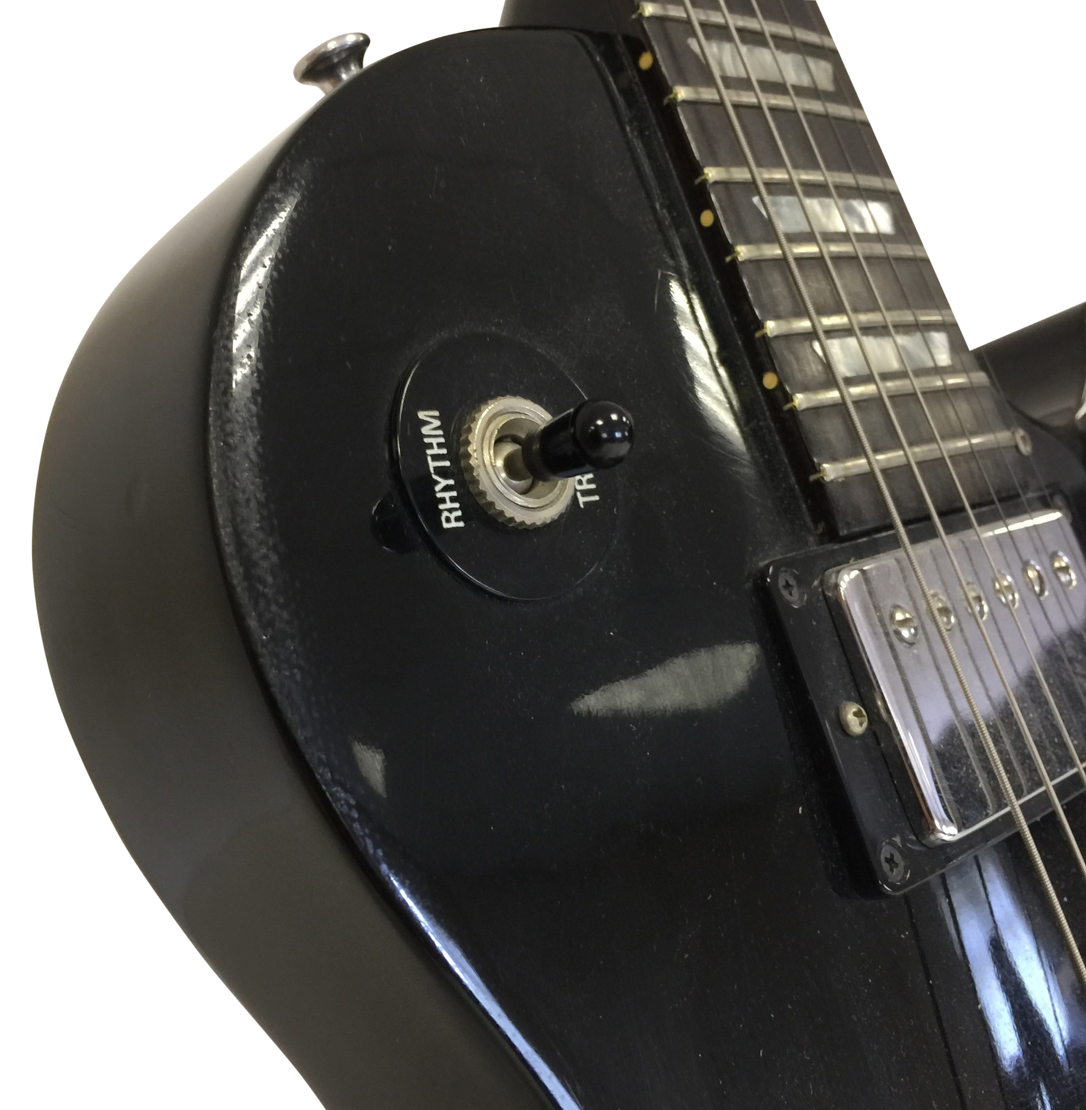 Lot 12 - GIBSON LES PAUL STUDIO MODEL ELECTRIC GUITAR WITH HARD CASE. A fine example here.