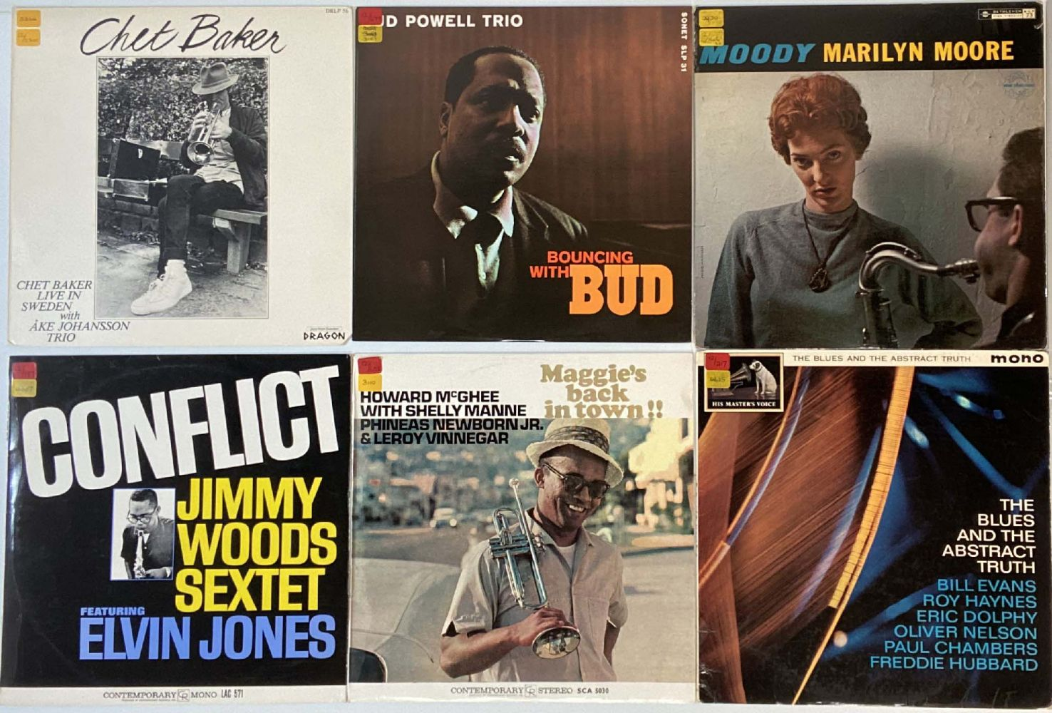 Soul, Jazz and Blues Vinyl Records