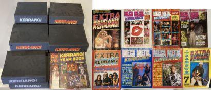 KERRANG MAGAZINE ARCHIVE - 1 - 270. An incredible archive of Kerrang! magazine.