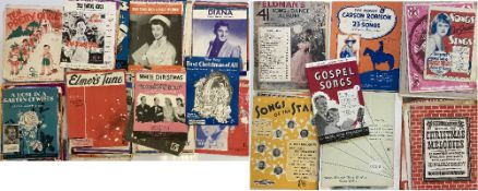 SONGBOOKS AND SHEET MUSIC.