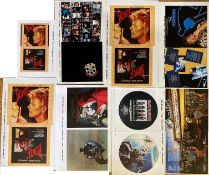 PROOF SLEEVES - THE BEATLES, DAVID BOWIE, MARILLION.