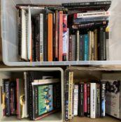 LED ZEPPELIN/PINK FLOYD/GUITAR BOOKS.