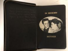 ELVIS PRESLEY OWNED HOLY BIBLE WITH NAME EMBOSSED IN GOLD.