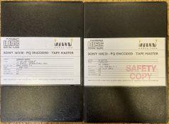 ABBEY ROAD CD MASTERS - BLONDIE/DEBBIE HARRY.