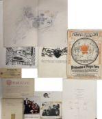 ASSORTED MUSIC MEMORABILIA INC STONES SECRETARIAL AUTOGRAPHS/THE TROGGS TAPES.