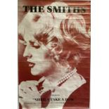 THE SMITHS SHEILA TAKE A BOW POSTER. An original poster for The Smiths - Sheila..