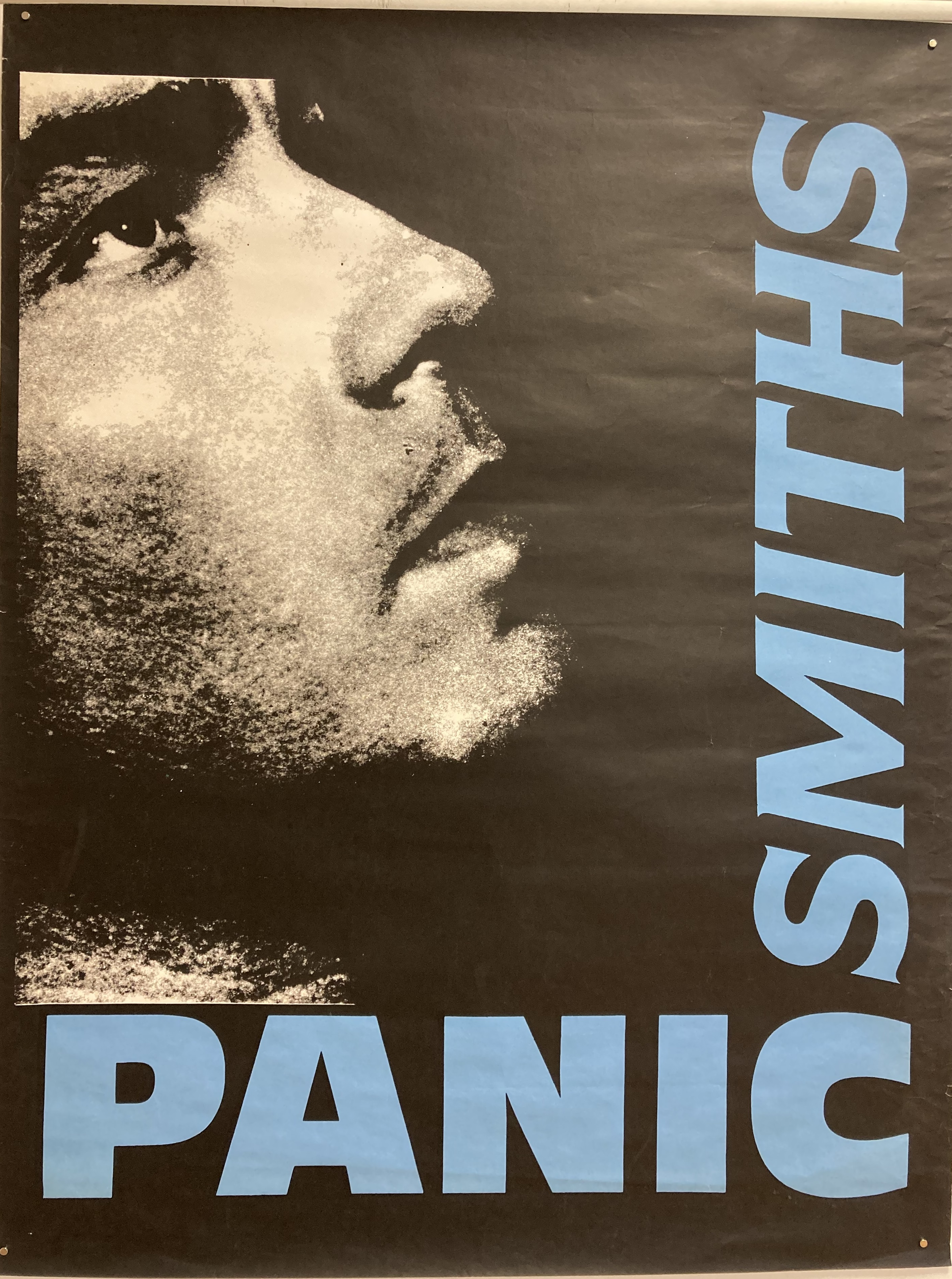 THE SMITHS PANIC POSTER. A possibly unofficial poster design produced for The Smiths - Panic.
