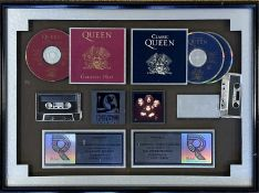 QUEEN GREATEST HITS AWARD