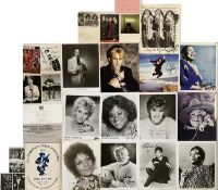 STAMPED AUTOGRAPHS / PROMOTIONAL ITEMS AND MORE