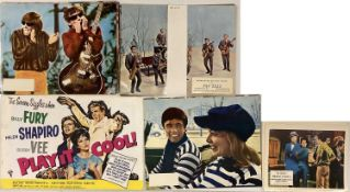 MUSIC FILM LOBBY CARDS