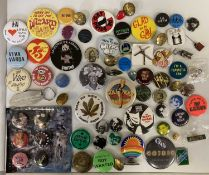 ASSORTED PROMOTIONAL BADGES