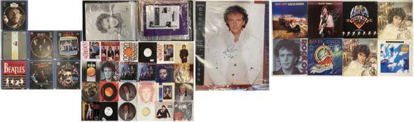 """DAVID ESSEX FAN PACKAGE - LPS/12""""/7"""" - FAN CLUB MATERIALS AND MORE"""