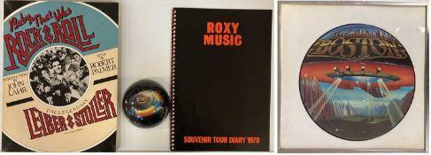 BOSTON PICTURE DISC / ROXY PROGRAMME
