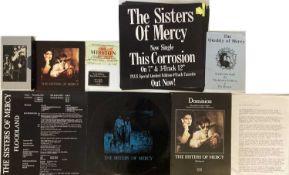 SISTERS OF MERCY MEMORABILIA