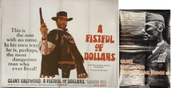 FISTFUL OF DOLLARS UK QUAD POSTER 1964