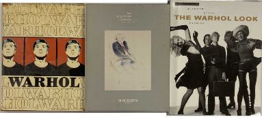 ANDY WARHOL - CATALOGUE RAISONNE AND SOTHEBY'S CATALOGUES