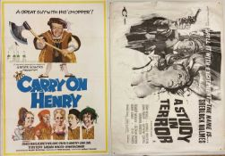 CARRY ON HENRY POSTER / A STUDY IN TERROR