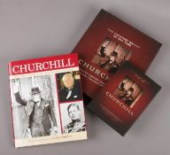 Winston Churchill interest - a limit edition boxset containing Churchill DVD and book The Greatest