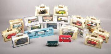 A collection of boxed die cast vehicles, Days Gone by Lledo, Exclusive First Editions Ltd, KLM by