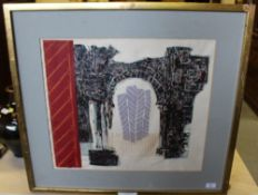 R. Nott (20th Century) - A 1970's Coloured lithograph - 'Strasbourg', signed in pencil to margin, No