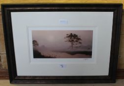 After John Waterhouse 'Ground Frost' limited edition Giclee print, number 23/495, numbered and