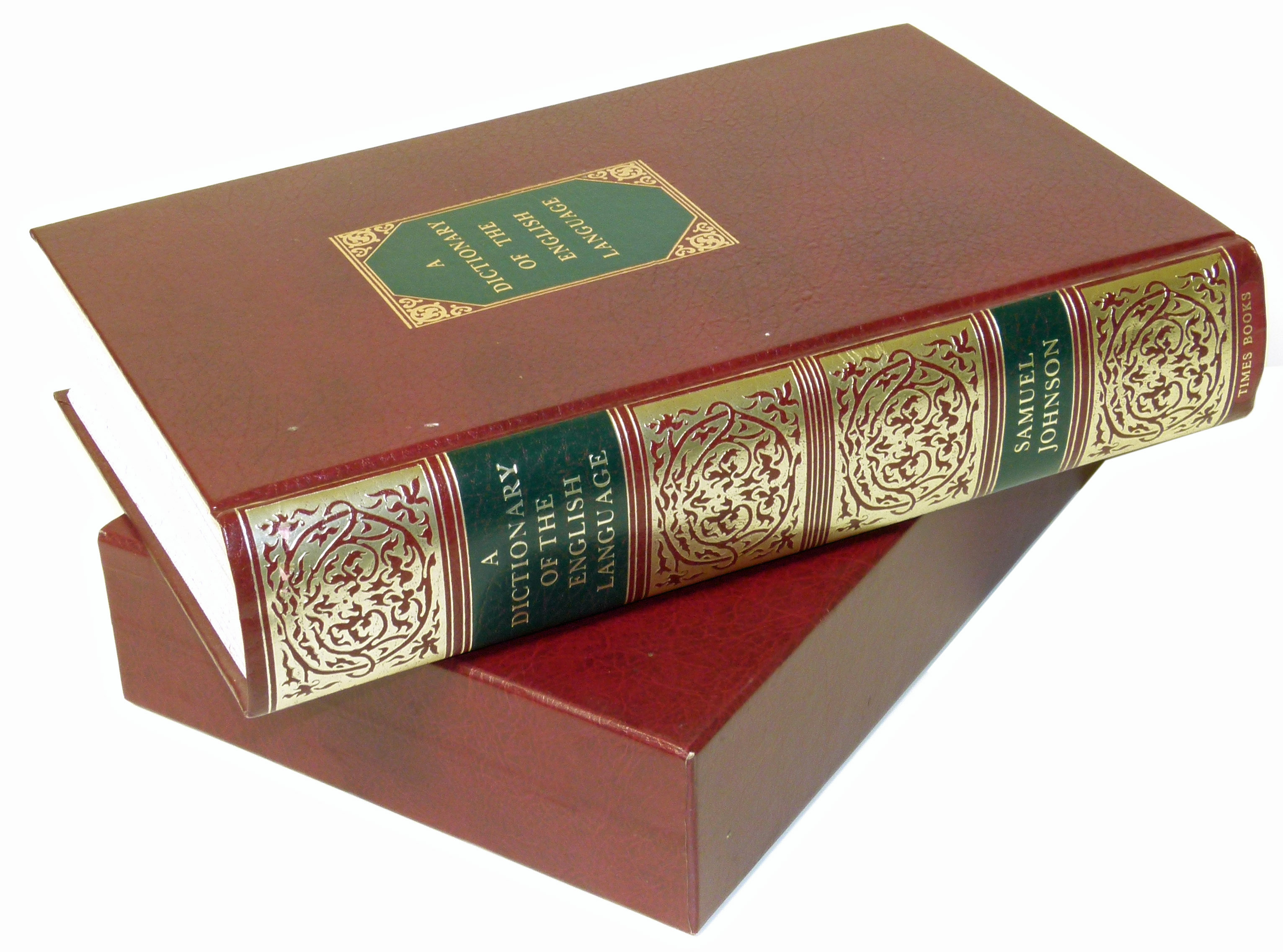 Lot 32 - Johnson, S., Dictionary of the English Language, Times Books 1979, attractive binding slip case.