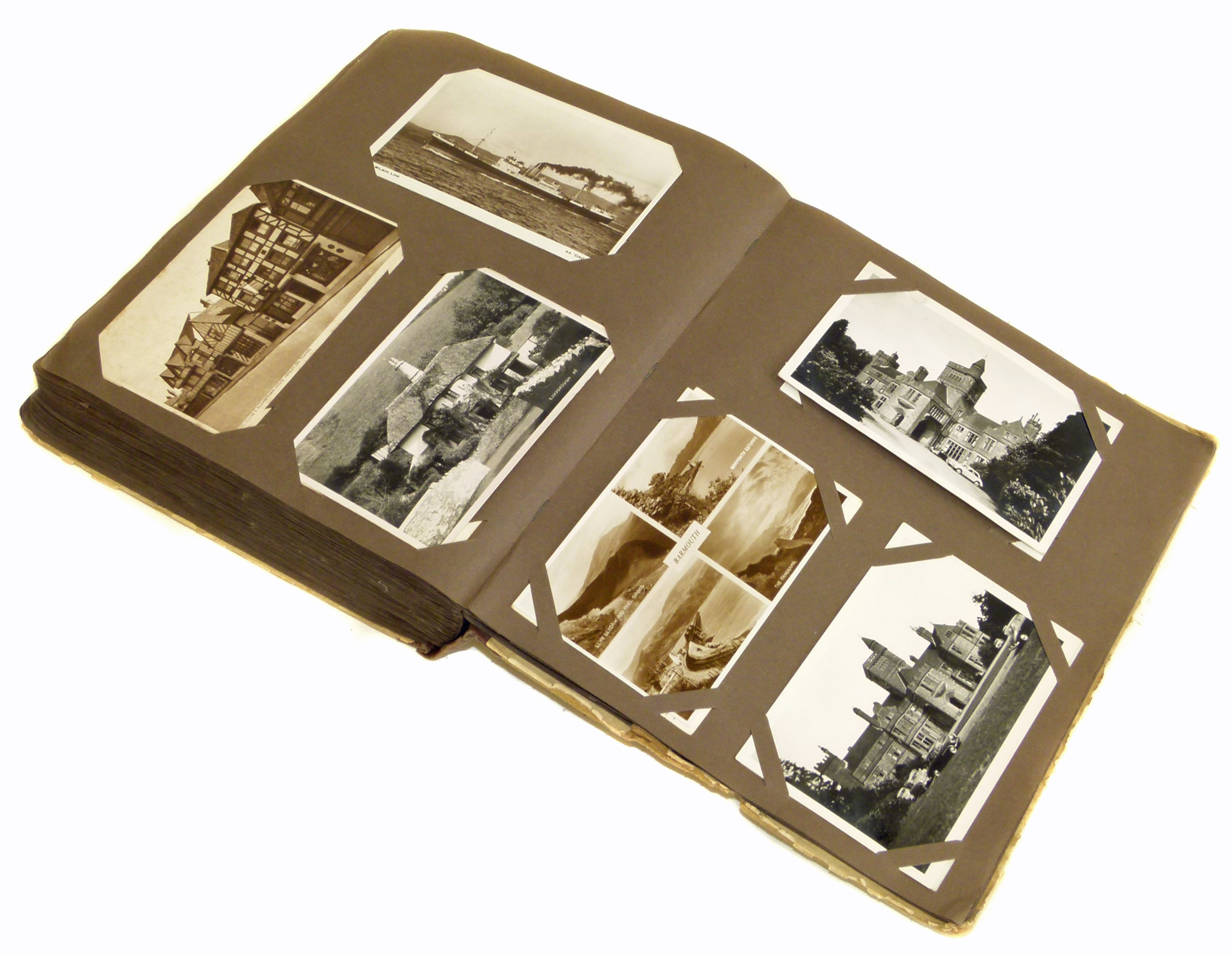 Lot 36 - Old postcard album covering period 1910's Modern (approx 300 cards) We are unable to do condition