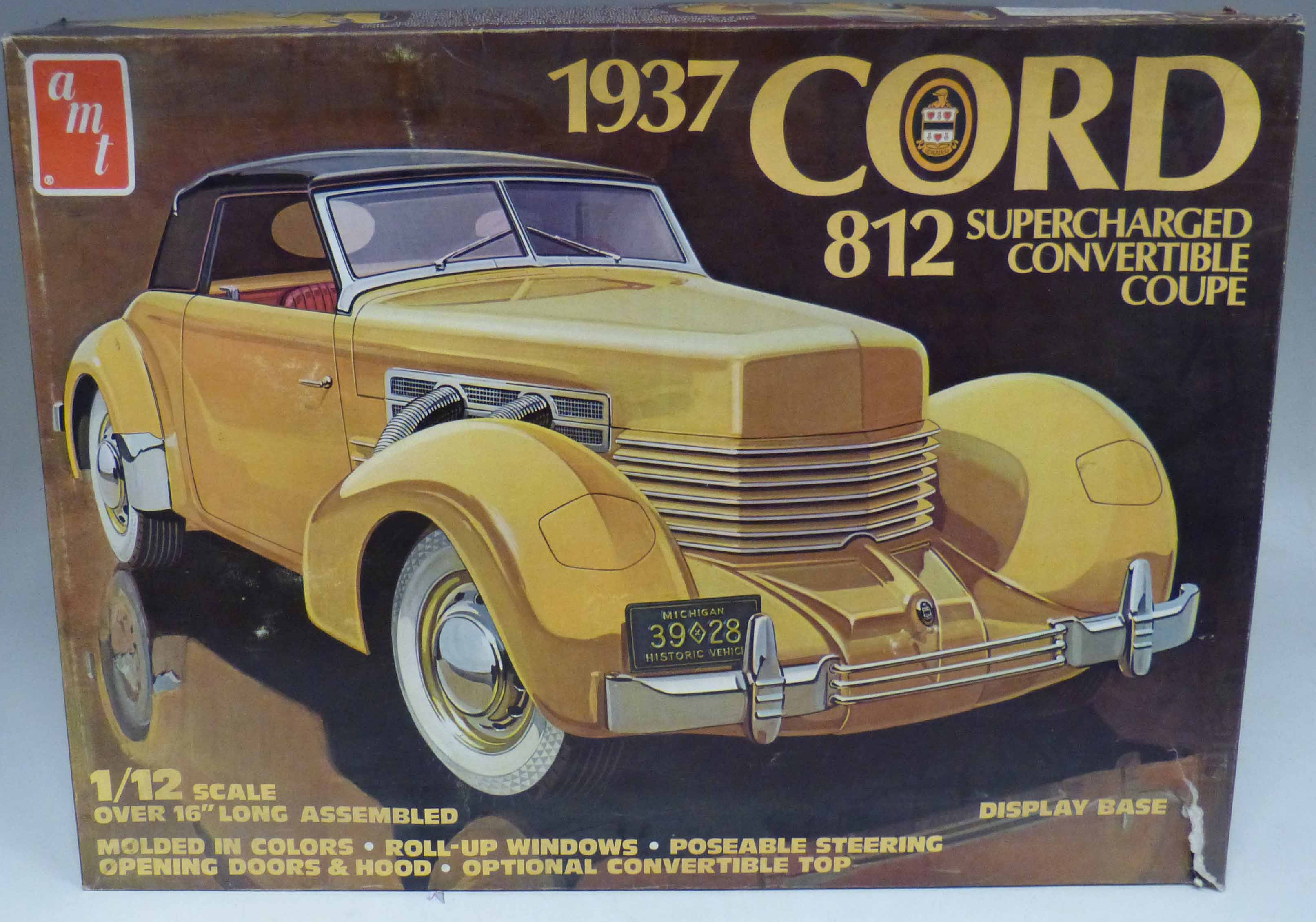 Lot 91 - Boxed AMT 1937 Cord We are unable to do condition reports on our Interiors Sale