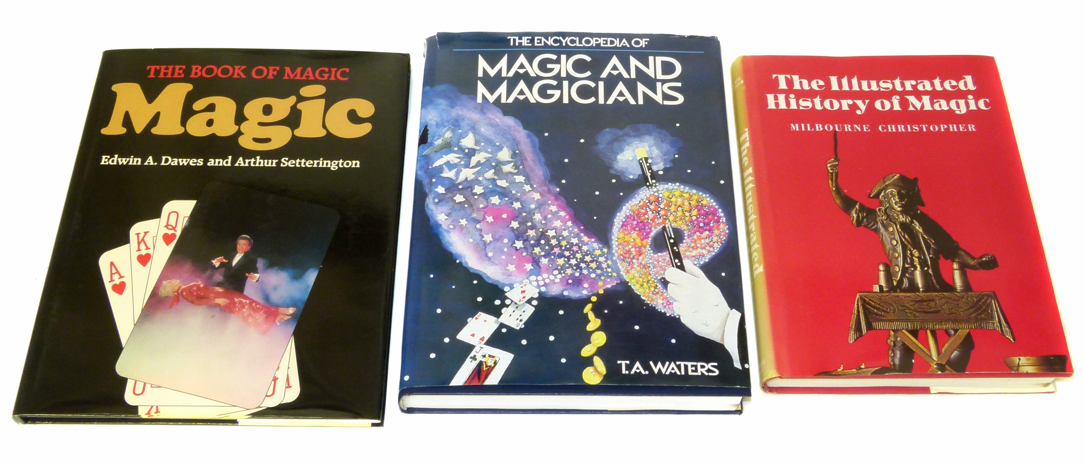 Lot 24 - Waters, T., Encyclopedia of Magic and Magicians and two other similar volumes. We are unable to do