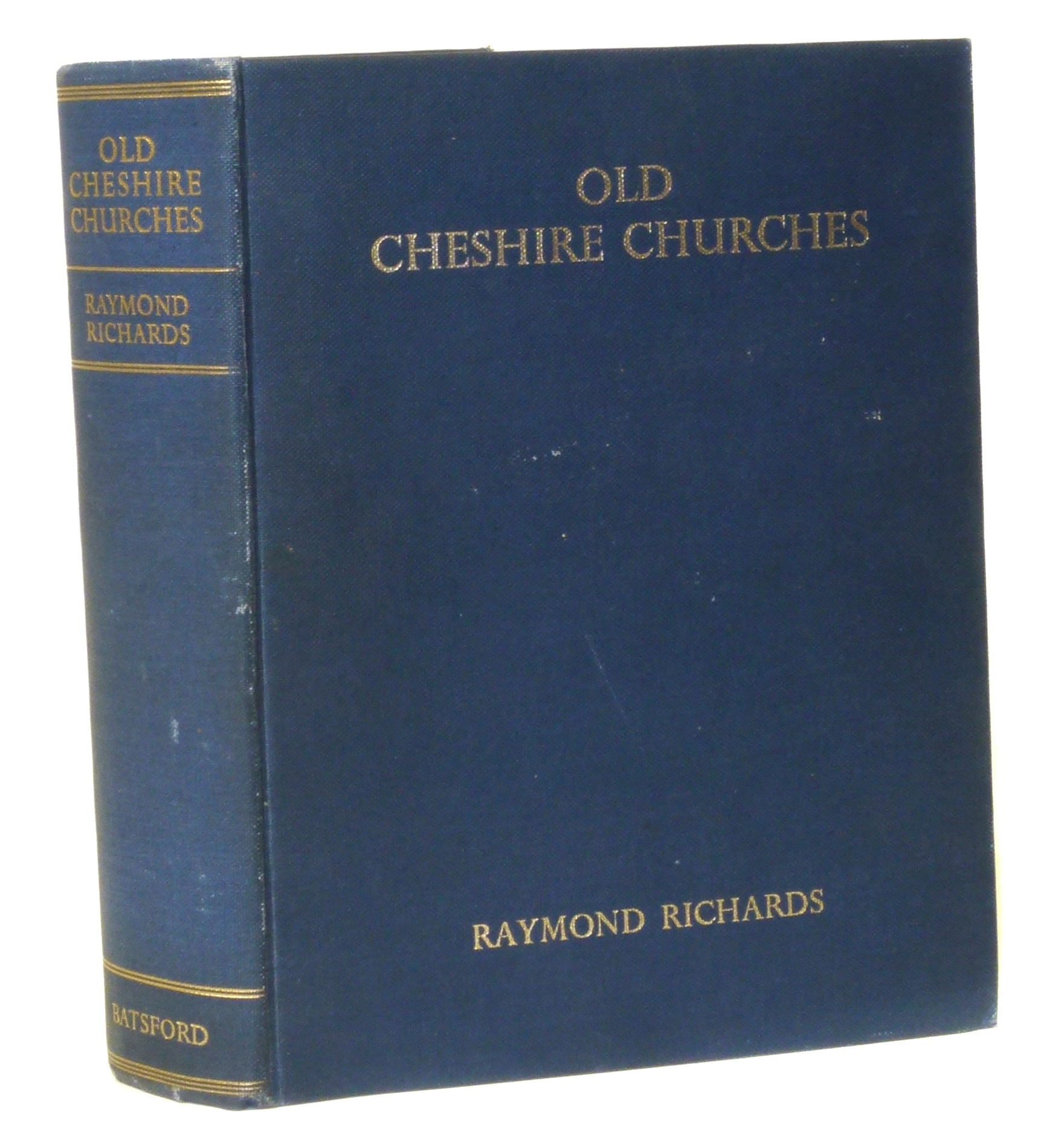 Lot 30 - Richards, R., Old Cheshire Churches, 1947. We are unable to do condition reports on our Interiors