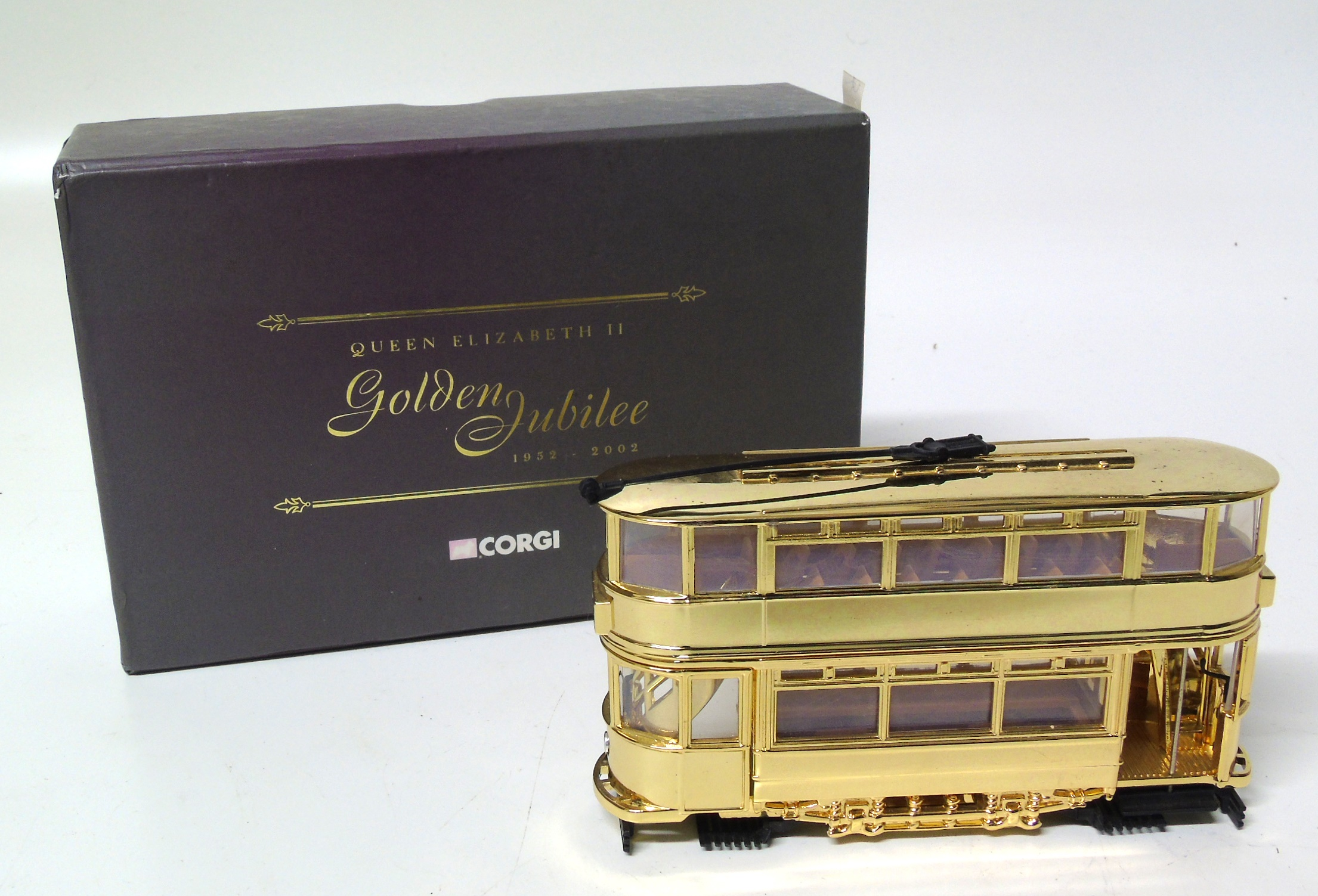 "Lot 97 - A corgi boxed tram, Dick Kerr tram ""Golden Jubilee"" We are unable to do condition reports on our"